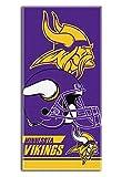 The Northwest Company NFL Minnesota Vikings Double Covered Beach Towel, 28 x 58-Inch