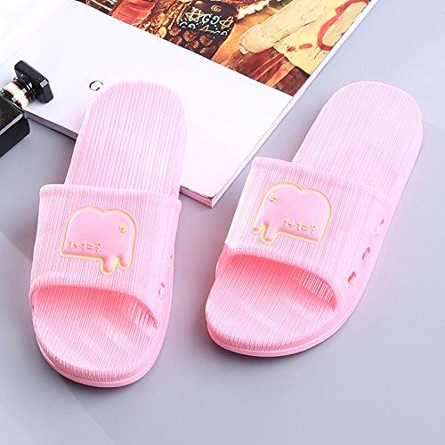 Y-Hui zapatillas de baño, Zapatillas de verano, zapatillas de baño interior, amantes Home, Cool zapatillas, Lady Verano West Red