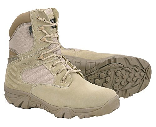 Herren Army Combat Militär Tactical Patrol Stiefel Wildleder Leder Wüste