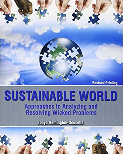 amazon com sustainable world approaches to analyzing and resolving