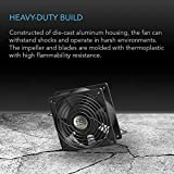 AC Infinity AXIAL 1238, Muffin Fan, 120V AC 120mm x