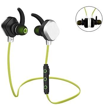 Auriculares Bluetooth, Auriculares inalámbricos marsee Sport Auriculares Auriculares con cancelación de ruido (Bluetooth 4.1, micrófono integrado, Aptx, ...