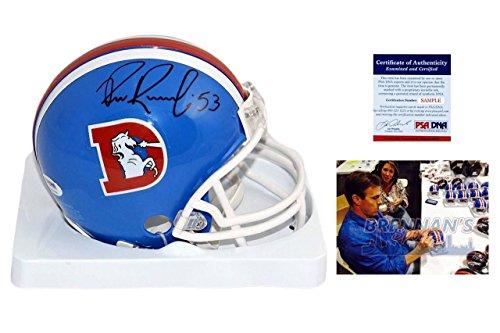 Bill Romanowski Signed Mini Helmet - Denver Broncos Autographed - PSA/DNA - TB