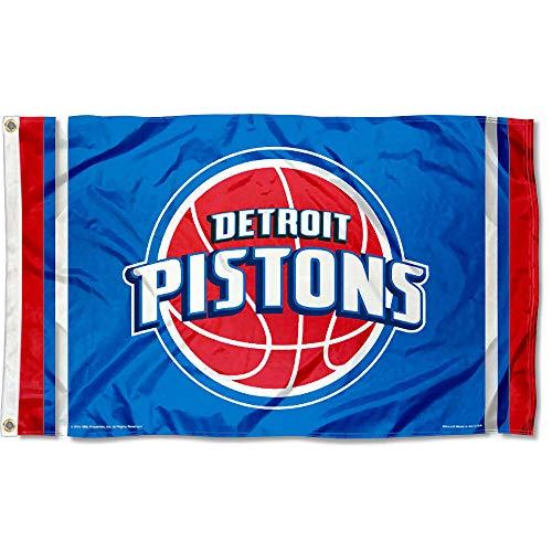 Wincraft NBA Detroit Pistons 3x5 Banner Flag ()