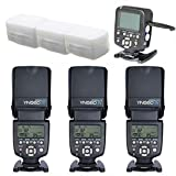 YONGNUO 3pcs YN-560 IV Kit Flash Speedlite With 560TX-C for Canon EOS 5D,5D25D Mark II, 1Ds Mark, 1D Mark,7D, 60D ,50D, 40D, 30D, 600D, 550D, 500D, 450D, 400D, 350D,300D,1100D,1000D 650D 5D2 5D