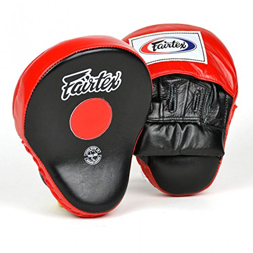 Fairtex FMV9 Ultimate Contoured Focus Mitts Boxing Punch Muay Thai MMA Pads Equipment Thai Boxing Pad by Fairtex