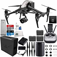 DJI Inspire 2 Premium Combo with Zenmuse X5S and CinemaDNG and Apple ProRes Licenses Videographer 240G Essential Bundle
