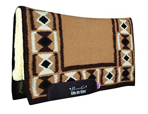 - Pro Choice Hourglass SMX Wool Saddle Pad 33x38 Tan