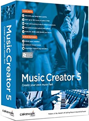 Cakewalk Music Creator 5 [Old Version]