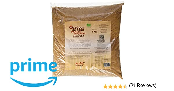Alternativa 3 - Azúcar Panela Bio Alternativa, 5kg: Amazon.es ...