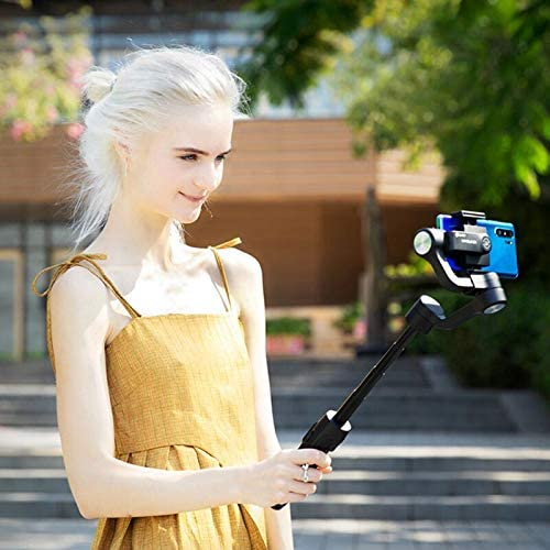 Vimble2S FeiyuTech Vimble 2S Smartphone Gimbal 18cm Extendable Stabilizer Gimble for iPhone 11//Pro//Max and Android Phones Dolly Zoom Selfie-Stick Remote Control with FeiyuOn App