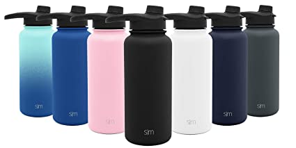 a6b4dd7e49 Simple Modern 14oz Summit Water Bottle with Chug Lid - Hydro Vacuum  Insulated Flask 18/