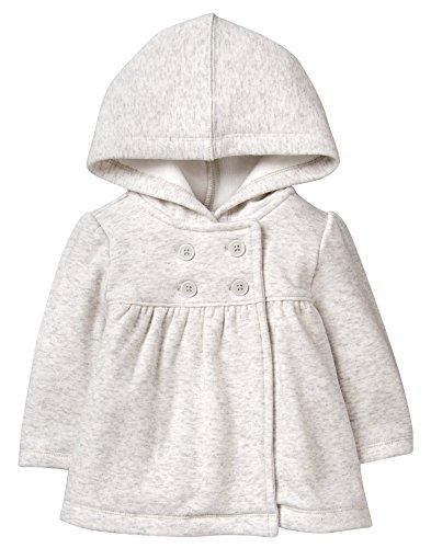 - Gymboree Baby Boys Winter Hooded Jacket, Grey, 6-12 mo