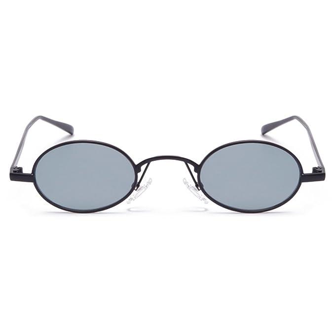 Amazon.com: Gobiger Oval Small Frame Sunglasses Fashion Designer ...