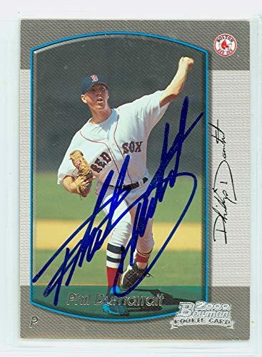 2000 Bowman Autograph - Phil Dumatrait AUTOGRAPH 2000 Bowman Boston Red Sox