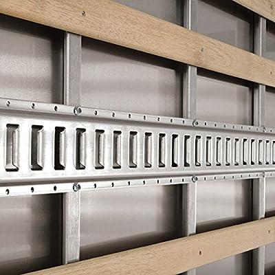 E-Track Metal Screw 20 Piece Fastener Set (1/4
