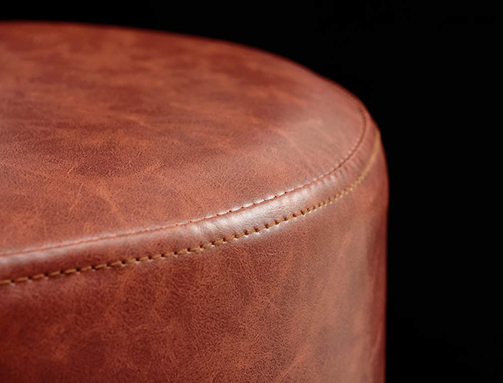 Divano rossoondo sgabello tavolino sgabello scarpa poggiapiedi
