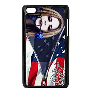Customiz American Famous Singer Lana Del Rey Back Case for ipod Touch 4 JNIPOD4-1454