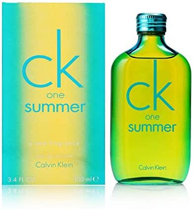 CK One Summer 2014 Eau De Toilette Spray 3.4 fl oz / 100 ml
