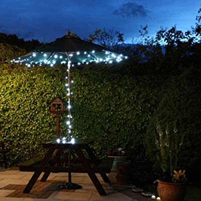 Lychee Solar powered string light 55ft 17m 100 LED Solar Fairy light string for Garden,Outdoor,Home,Christmas Party