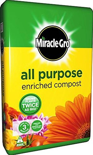 Garden Compost Miracle-Gro Multi Purpose Compost 20L Massive Bag Fertilizer