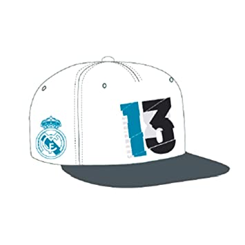 adidas Gorra Real Madrid 13 Campeón UCL 18 White Talla OSFM