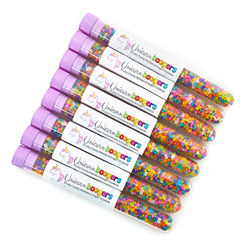 Unicorn Boogers Candy | 8-Pack | Fun Party Favor! | Allergen Free! | Fruit Flavored Candy | MADE IN THE USA!