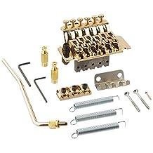 1pkg Licensed Floyd Rose Gold Guitar Tremolo Bridge Parts System