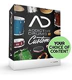 定番ドラム音源◆XLN Audio Addictive Drums 2 Custom /ADpak・MIDIpak・Kitpiece Pak各3点バンドルセット◆並行輸入品ノンパッケージ/ダウンロード形式