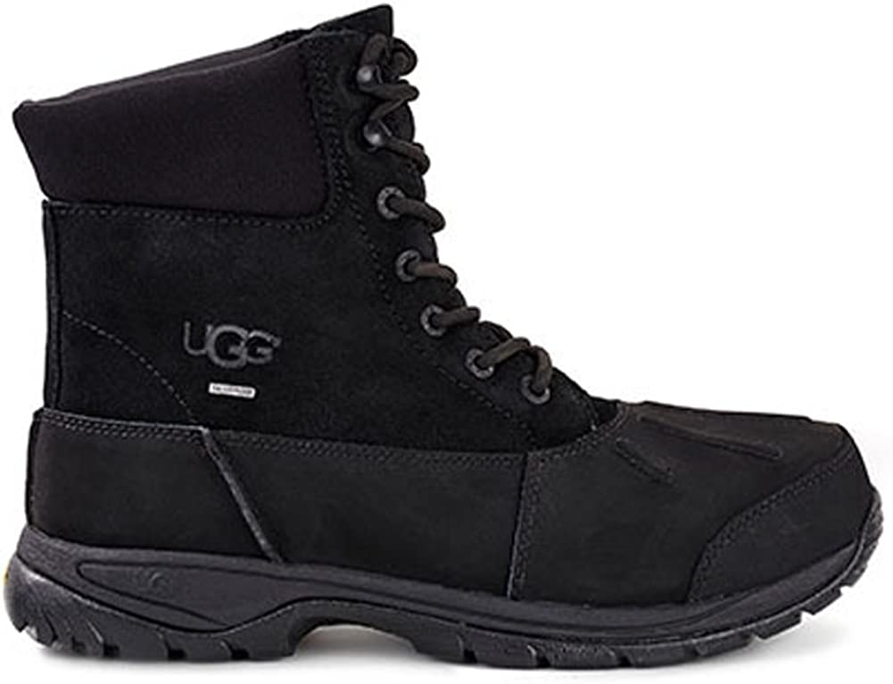 UGG Mens Metcalf Rain Boot Black Size
