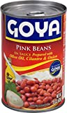 Goya Foods Pink Beans in Sauce, 15-Ounce (Pack of 24)
