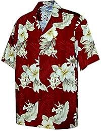 Pacific Legend Plumeria Hibiscus-Hawaiian Shirts-Aloha Shirt-Hawaiian Clothing