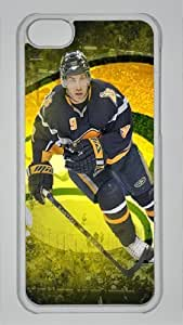 DEREK ROY SABRES LOGO Custom PC Transparent Case for iPhone 5C by icasepersonalized