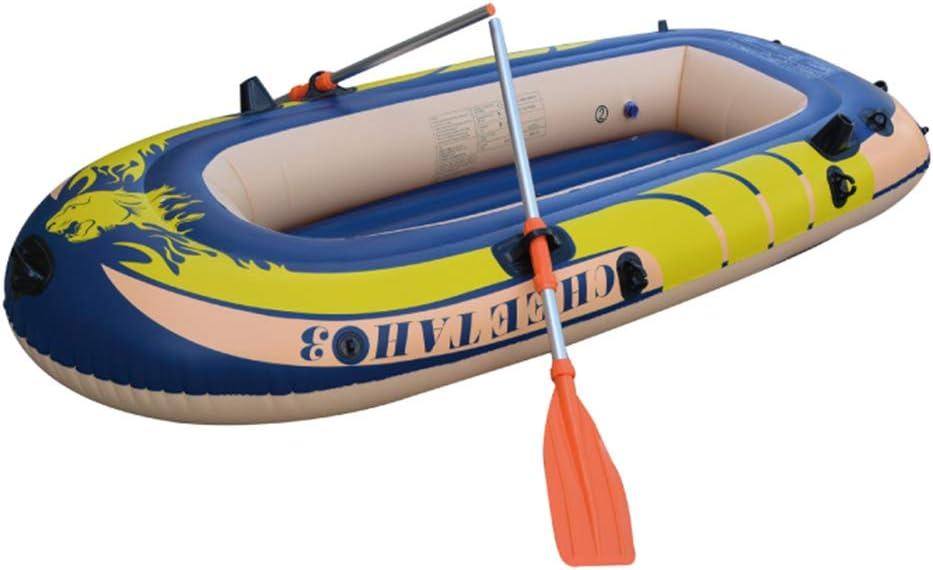 カヤックインフレータブルボート厚い耐摩耗漁船高速旅行カヌー  227*110*38cm