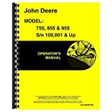 New John Deere 955 Tractor Operator's Manual