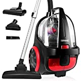 Duronic Vacuum Cleaner VC5010 Electric Bagless Sweeper   Energy Class A+   500W   Cyclonic   Cylinder   Carpet and Hard Floor Cleaner