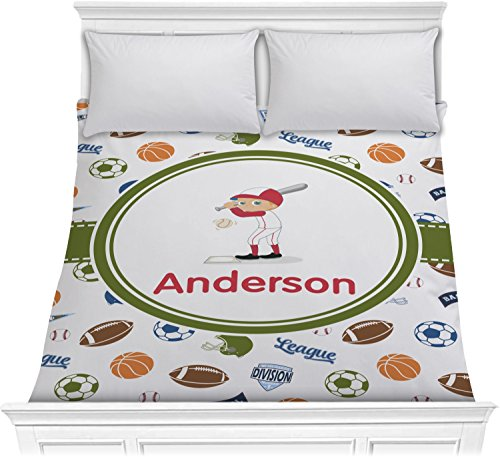 Sports Comforter - Full / Queen (Personalized) by RNK Shops
