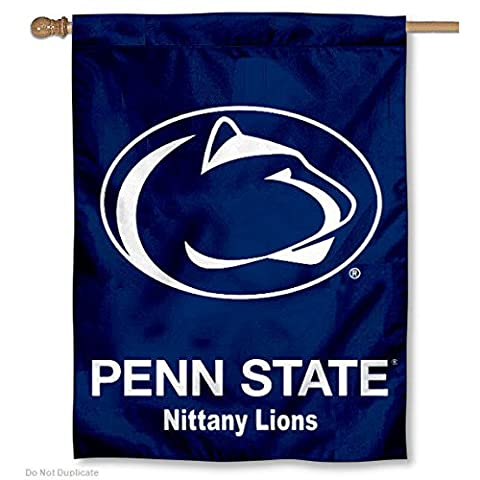 PSU Nittany Lions Double Sided House Flag - Double Sided Pole