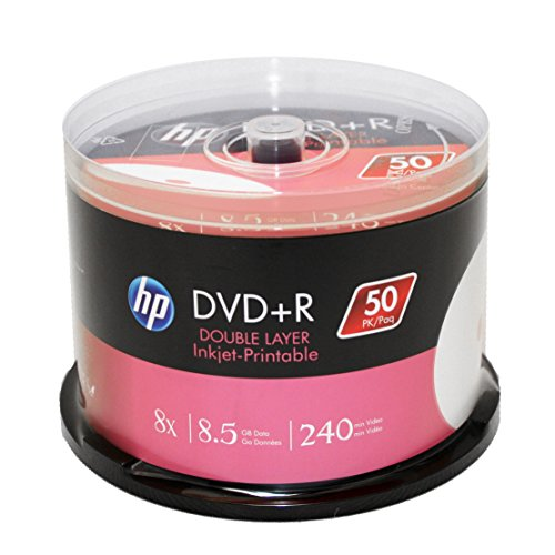Hp Dvd+R Dl Double Layer 8X 8.