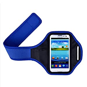yinwen220us Brand New Waterproof Blue Sport Running Gym Soft Armband Case cover Pouch For Samsung S4 / i9500, S3 / i9300
