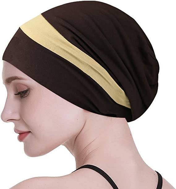 CANCER POWDER BLUE EASY LOUNGE HAT HEADWEAR FOR HAIR LOSS CHEMO