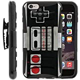 Apple Iphone 6 Plus | 6s Plus | 5.5″ Case | Rugged Armor Series Impact Hard Rubber Durable Unique Creative Cover + Belt Clip by Miniturtle – Game Controller