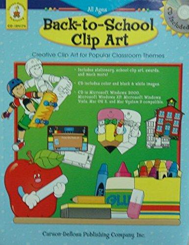 Dellosa Carson Clipart - Back-to-School Clip Art (Creative Clip Art for Popular Classroom Themes (includes CD), CD104174)
