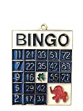 EZ Travel Collection Bingo Christmas Ornament