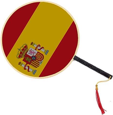 Alta detallada Bandera España Chino Antiguo Ventilador Clásico Palacio Ventilador de paleta Ventilador de baile Accesorios de ventilador de mano Ventilador de mano Bebé Ventilador de mano Juguete Ven: Amazon.es: Hogar