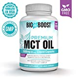 [Extra Strength] MCT Oil Capsules 3000mg 100% Pure MCTs Non-GMO Coconut Oil, Perfect Keto MCT Pills for Ketogenic Diet, C8 & C10 Medium-Chain Triglycerides