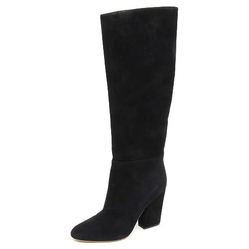 SERGIO ROSSI E8622 Stivale Donna Black No Box Scarpe Suede Boot Shoe Woman   Amazon.it  Scarpe e borse 6d9e165174c