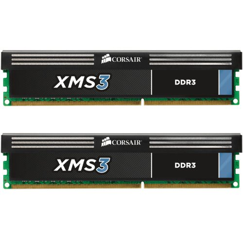 Corsair XMS3 8GB (2x4GB) DDR3 1600 MHZ (PC3 12800) Desktop Memory 1.5V by Corsair