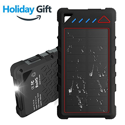 Portable Solar Powered Battery Charger - 2