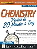 Chemistry Review in 20 Minutes a Day, , 1576857999
